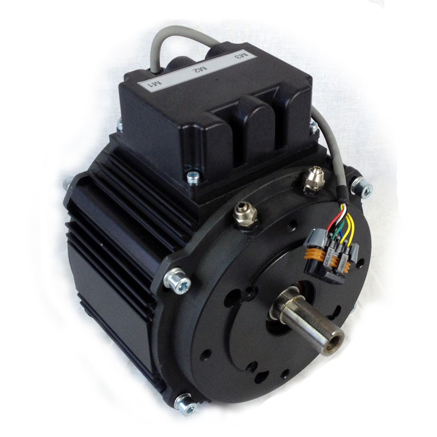 Motors dc and pmac motenergy me1302 water cooled brushless for Liquid cooled ac motor