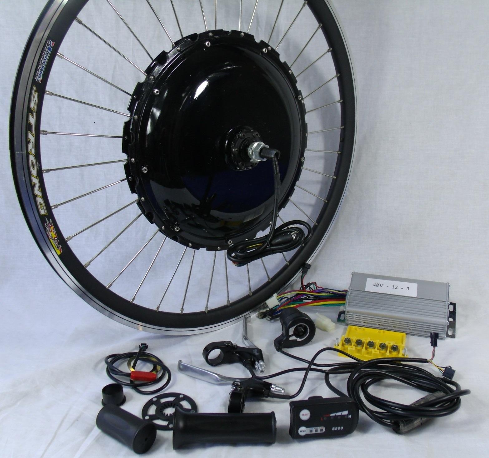 Electric bike hub motor kit bicycling and the best bike for Best bike hub motor