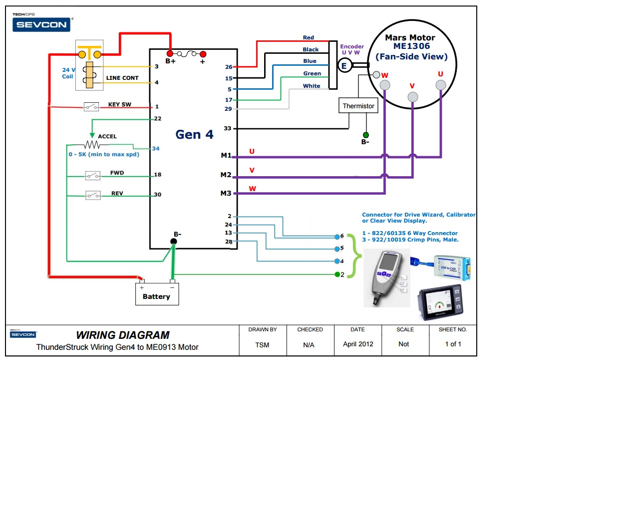 Thunderstruck Motors Manuals Data Sheets Understanding Electrical Diagram Gen4 1306 Wiring For Pb 8
