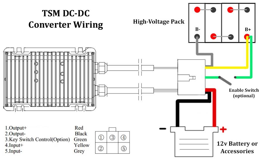 Enjoyable Dc Dc Converters Tsm 144V Dc Dc Wiring Cloud Tobiqorsaluggs Outletorg